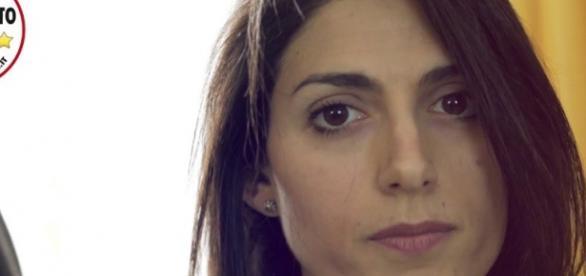 Il candidato del Movimento Cinque Stelle a Roma, Virginia Raggi