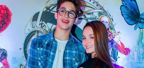 Larissa Manoela e João Guilherme