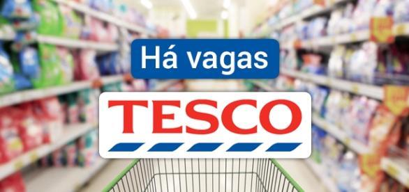 Tesco está contratando no Reino Unido
