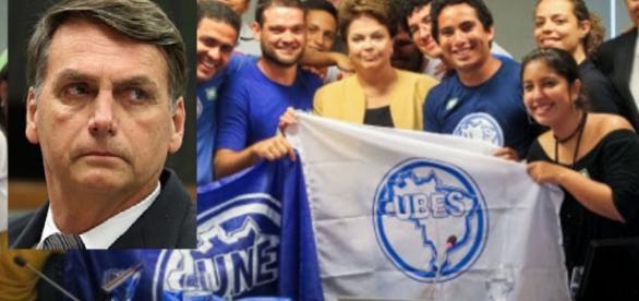 Câmara fará CPI da UNE com filho de Bolsonaro
