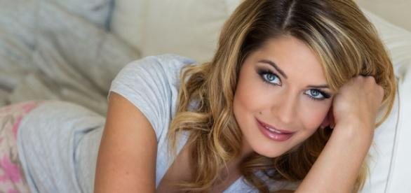 Modertorin Daniela Gotto (29) . - (c) Michael Schmid
