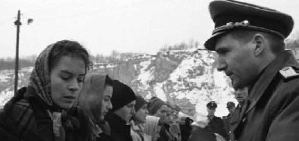 Imagen de 'La lista de Schindler' de Spielberg, sobre el Holocausto judío.