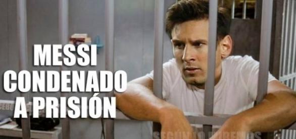 Lionel Messi ha sido condenado a prisión por evasión al fisco.