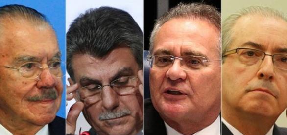 Pedidos de prisão dos quatro políticos foram feitos nessa manhã
