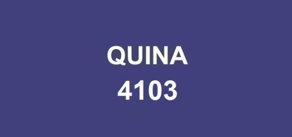 Prêmio de R$ 500 mil a ser sorteado na Quina 4103.