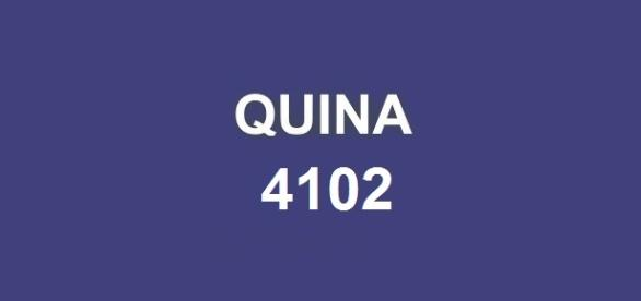 Quina 4102; Resultado da premiação divulgado nessa segunda-feira (6).