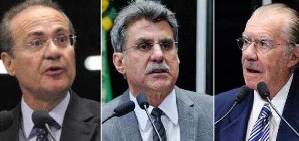 Rodrigo Janot pede prisão de Renan, Calheiors e Sarney