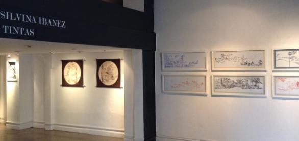 """A petición de los galeristas Ibanez preparó las """"Tintas"""""""