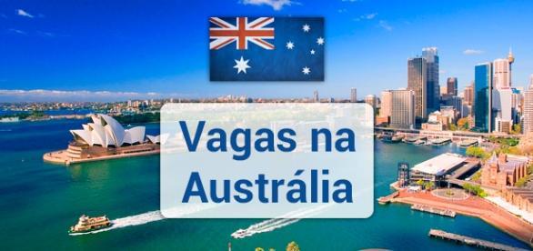 Austrália tem mais de 44 mil vagas abertas.