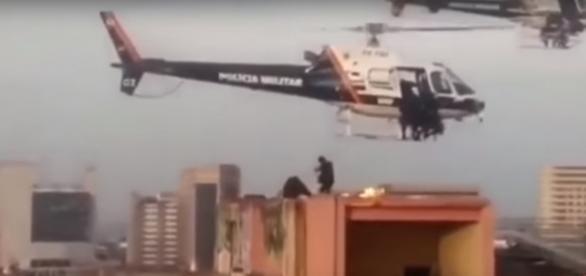 Operação lembrou cenas de ação de filmes hollywoodianos
