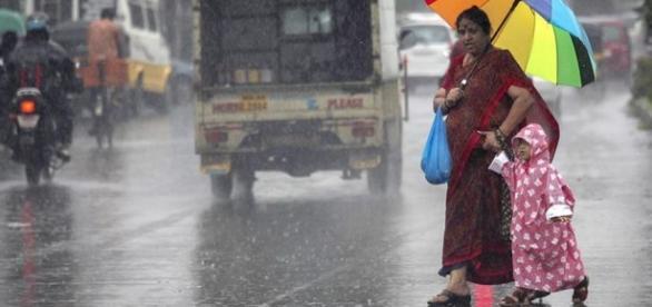 La época del monzón ha llegado a la India