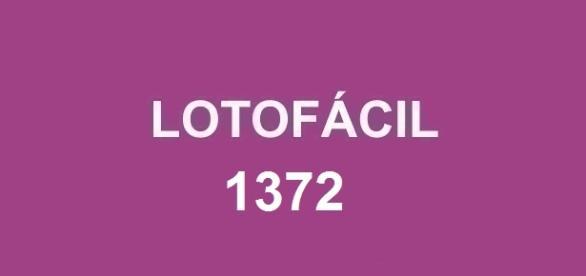 Sorteio do prêmio de R$ 1.700.000,00 na Lotofácil 1372.