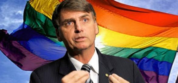 Apoio de gays a Bolsonaro surpreende