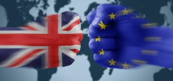 Fan art de UE contra el Reino Unido