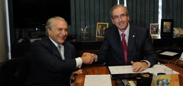 Michel Temer e Eduardo Cunha Foto: Fabio Rodrigues Pozzebom/ Agência Brasil