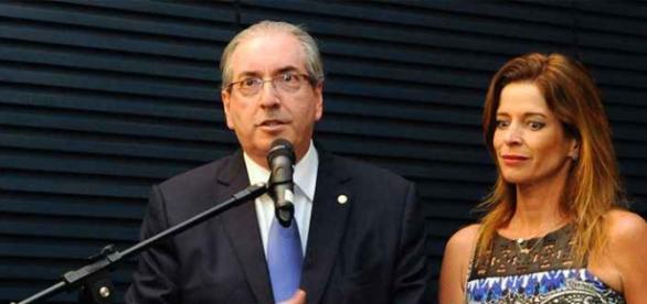 Mulher de Cunha teria auxiliado marido em esquema de corrupção