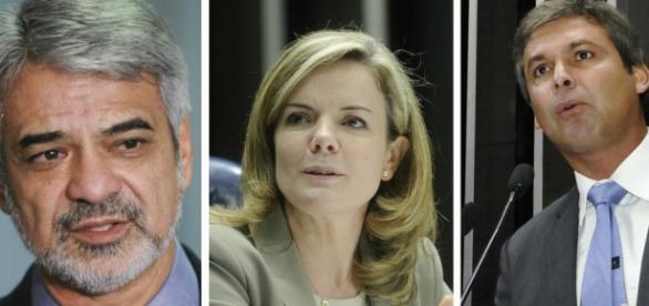 Senadores petistas na mira da Lava Jato