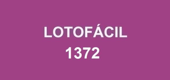 Sorteio do prêmio de R$ 1.700.000,00 na Lotofácil 1372