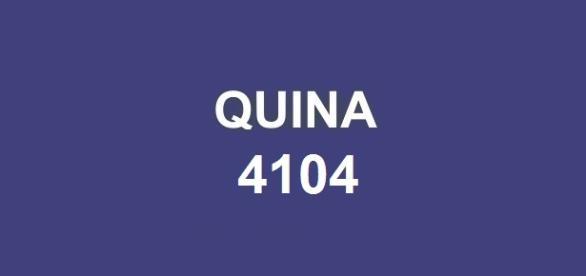 Dezenas do resultado Quina 4104 anunciadas nessa quarta-feira (8)