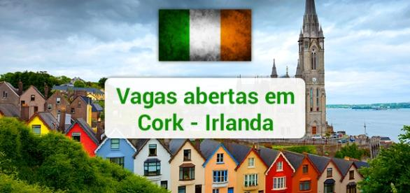 Vagas abertas em Cork na Irlanda. Foto: Reprodução Matadornetwork.