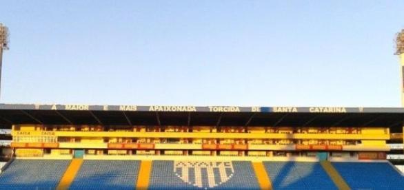 Avaí x Vasco é um dos destaques da rodada, o jogo acontece no Estádio da Ressacada. (Foto: Divulgação Avaí FC)