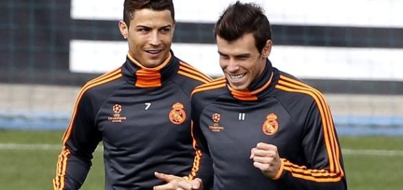 Cristiano Ronaldo y Gareth Bale se entrenaron tras sufrir ... - aldia.cr
