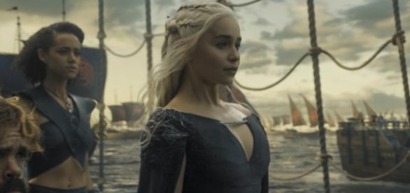 Daenerys a caminho de Westeros.