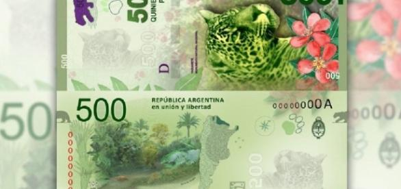 """El """"billete del yaguareté"""" sería precedido en octubre por el de 200 y 1000 pesos."""