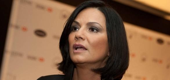 Luiza Brunet conta ter sido agredida pelo ex-companheiro em Nova York, em maio deste ano.