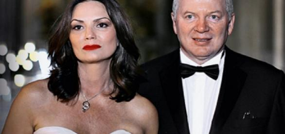 Luiza Brunet e a polêmica com o ex-companheiro