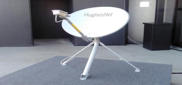 Serviço será disponibilizado via satélite.