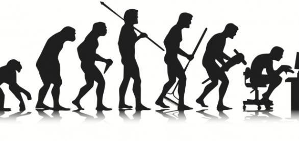 Famoso desenho da evolução humana