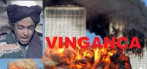 Filho de Bin Laden jura vingança - Foto/Montagem