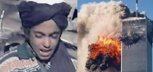 Filho de Bin Laden jurou vingar morte do pai (Fotomontagem/Internet)