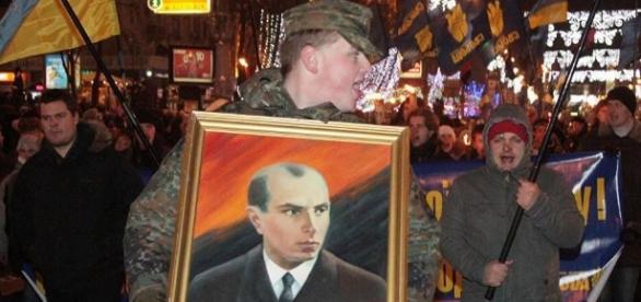 Stepan Bandera, jeden z przywódców OUN.