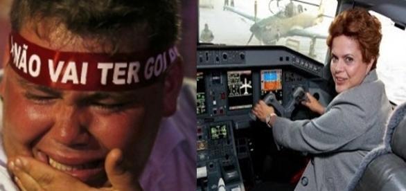 'Vaquinha' para Dilma já ultrapassou a meta (Fotomontagem/Internet)