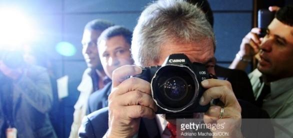 Lula e a Câmera - Imagem/Google/Getty Images