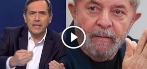 Lula é alvo de críticas de jornalista