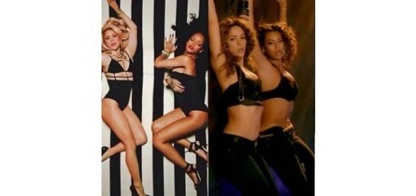Shakira, Beyoncé ou Rihanna, quem canta melhor?