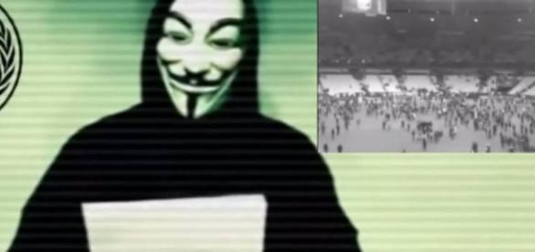 Anonymous faz ameaça contra políticos - Foto/Montagem