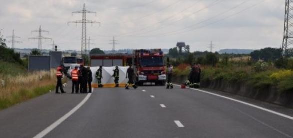As autoridades não conseguiram salvar a vítima