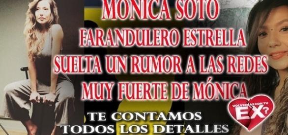 Monica Soto vinculada a romance