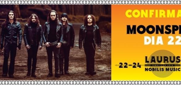 Moonspell actuam no dia 22 de Julho