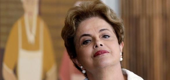 A presidenta afastada Dilma Rousseff