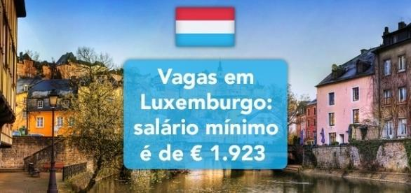 Confira as vagas abertas em Luxemburgo, na Europa.