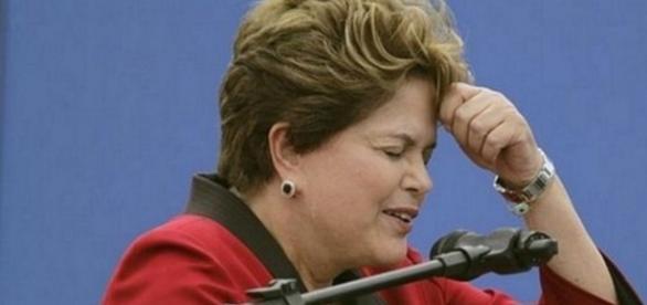 Dilma parece perdida em seus discursos - Imagem/Google