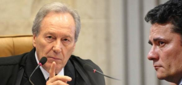 Juiz Sérgio Moro defende no Supremo que as investigações contra Lula continuem com ele.