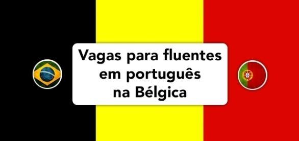 Vagas abertas na Bélgica para fluentes em português.