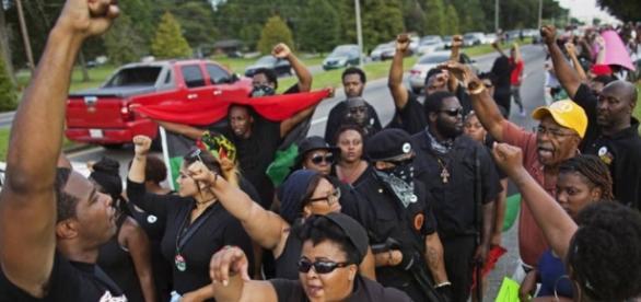 Los líderes de las Panteras Negras