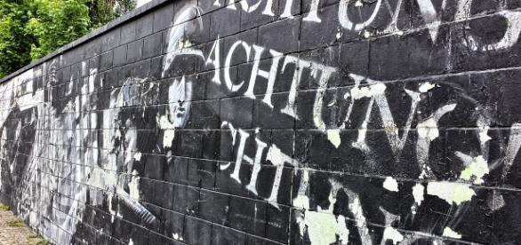 Mur, graffiti, Powstanie Warszawskie/www.pixabay.com